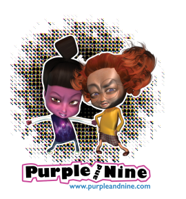 Purple and Nine
